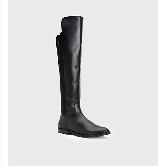 a25cede6a36 ✨Calvin Klein Priya leather high boot✨